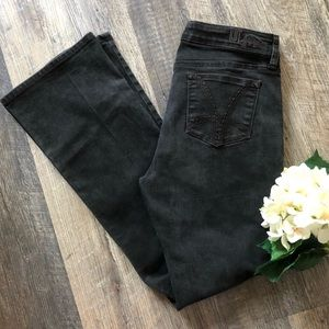 Kut from the Kloth   Black Farrah Baby Bootcut